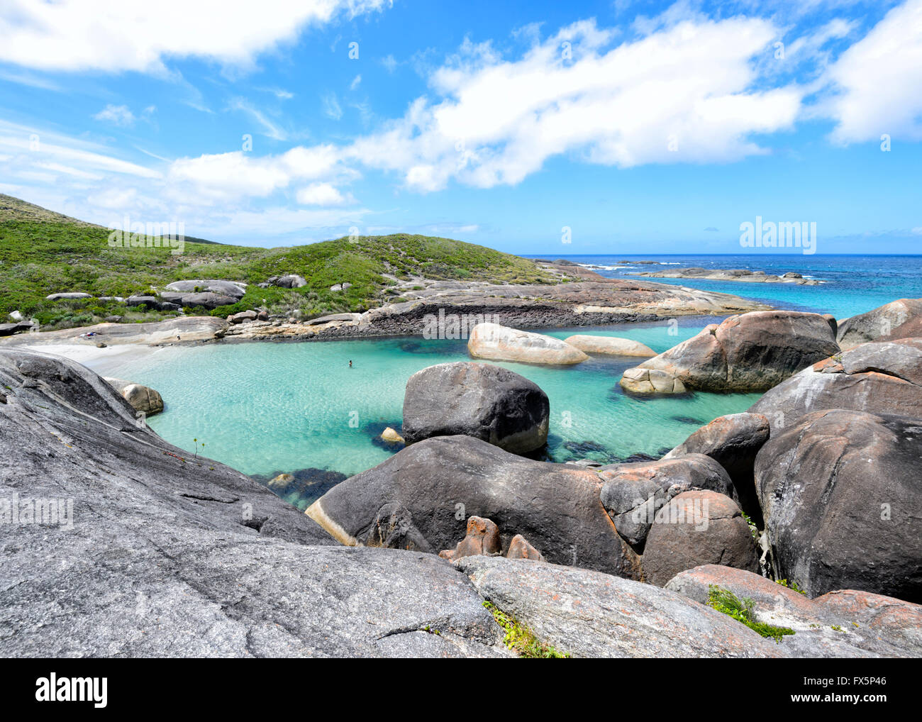 Elephant Cove, Denmark, Western Australia, WA, Australia - Stock Image