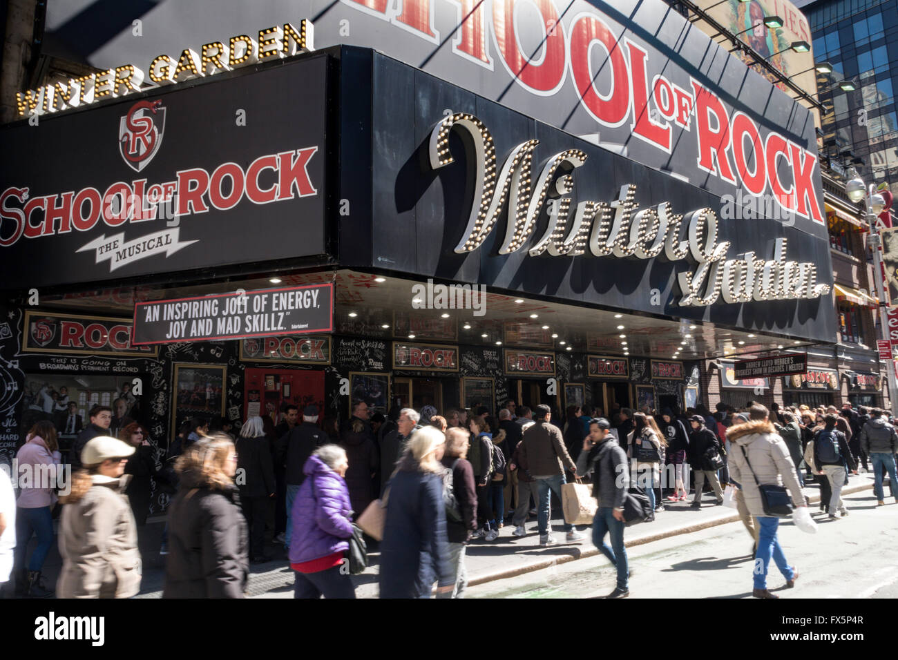 winter garden theater nyc - Winter Garden Theater Nyc
