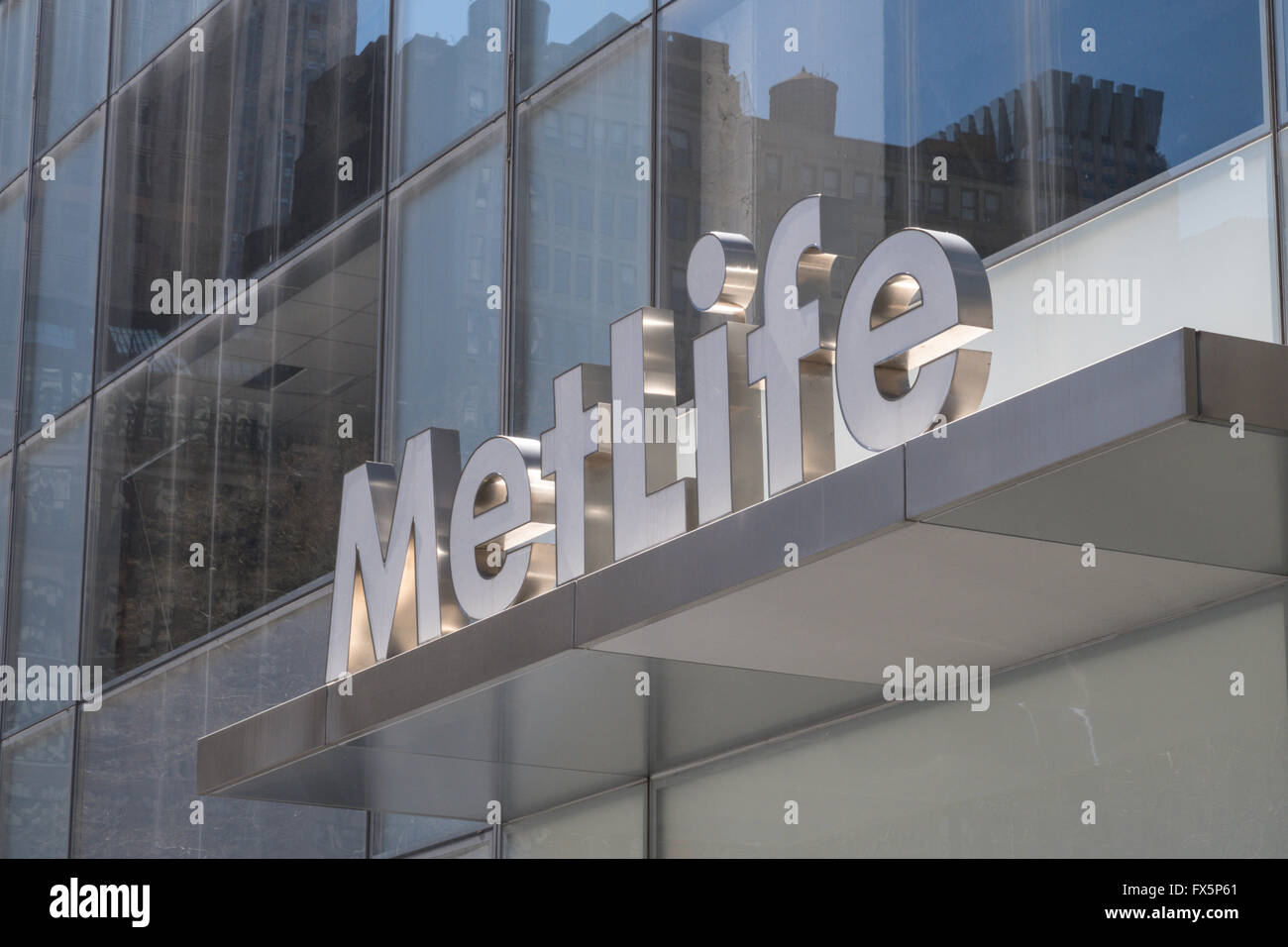 Met Life Building.   Old Verizon Building - 1095 Avenue of the Americas @ 42nd St. NYC, USA - Stock Image