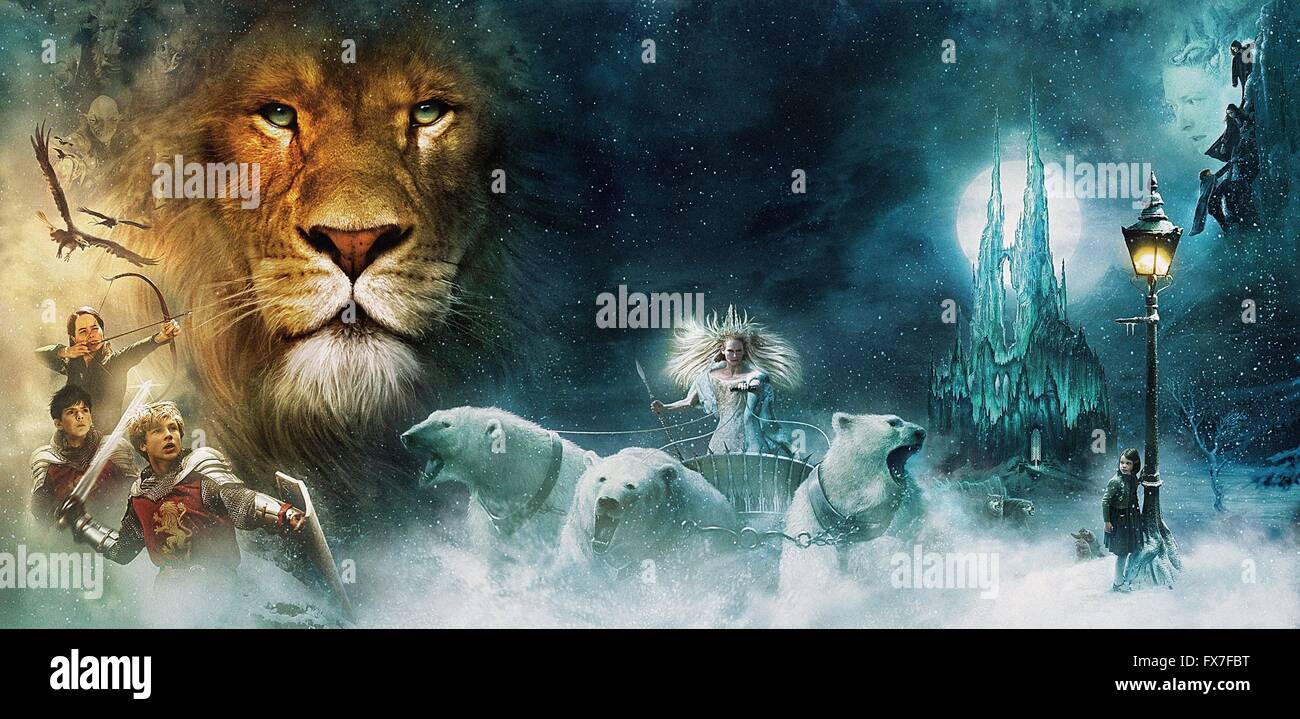the chronicles of narnia: the lion, the witch and the wardrobe year