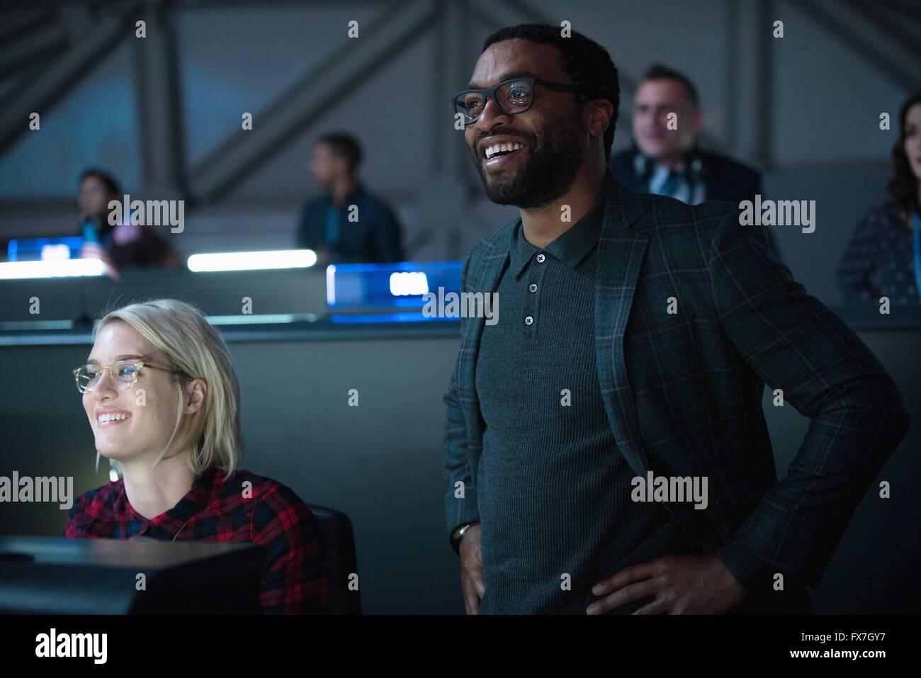 The Martian Year : 2015 USA Director : Ridley Scott Kristen Wiig, Chiwetel Ejiofor - Stock Image
