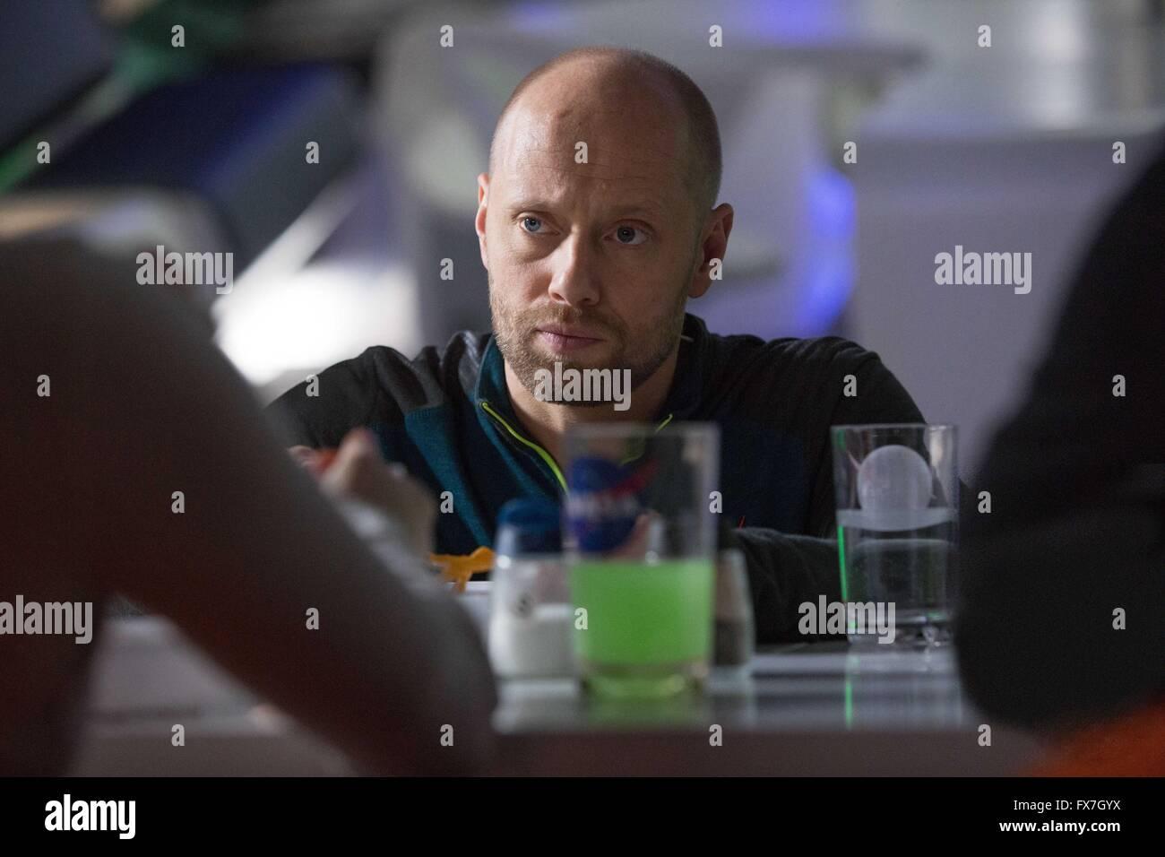 The Martian Year : 2015 USA Director : Ridley Scott Aksel Hennie Stock Photo