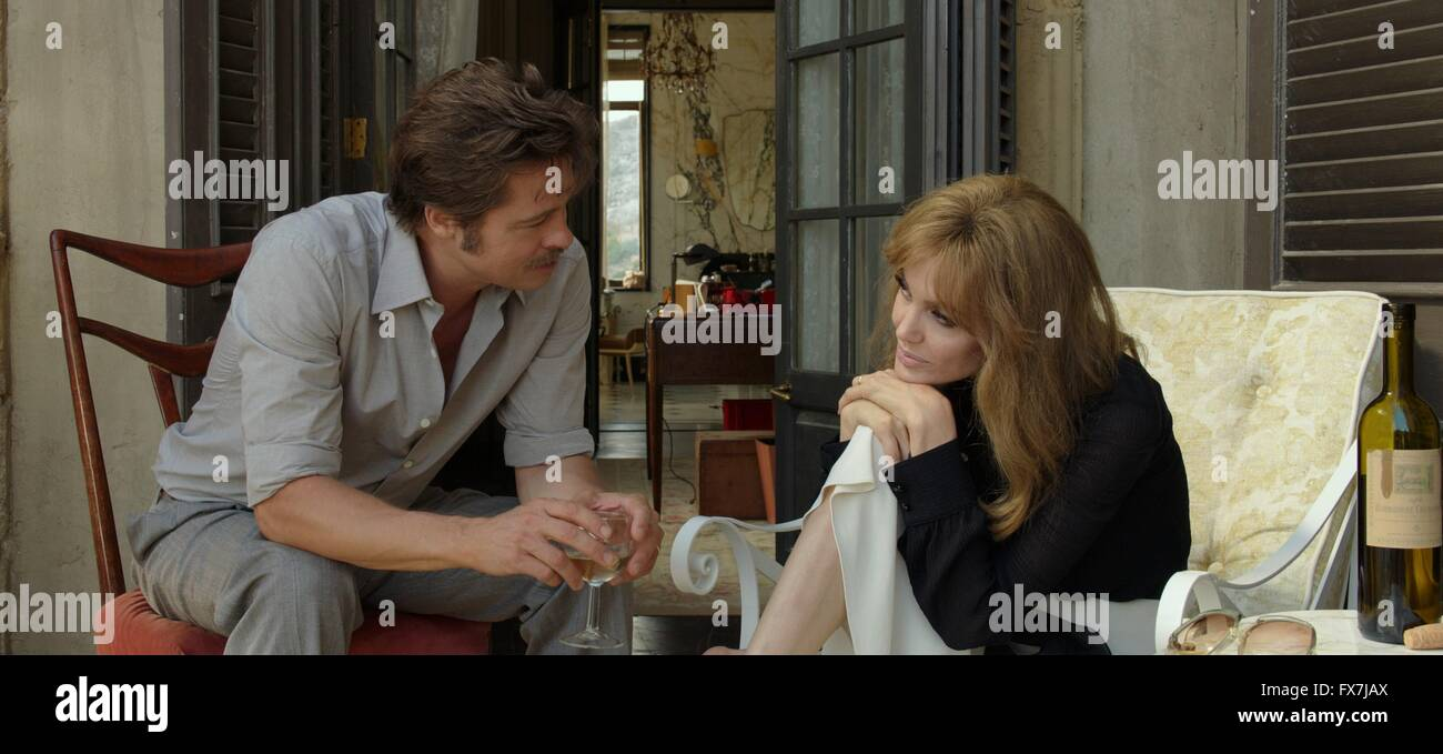 By the Sea Year : 2015 USA Director : Angelina Jolie Angelina Jolie, Brad Pitt - Stock Image