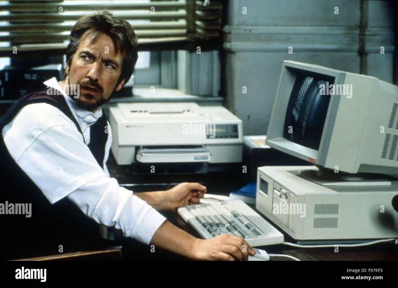 The January Man Year : 1989 USA Director : Pat O'Connor Alan Rickman - Stock Image