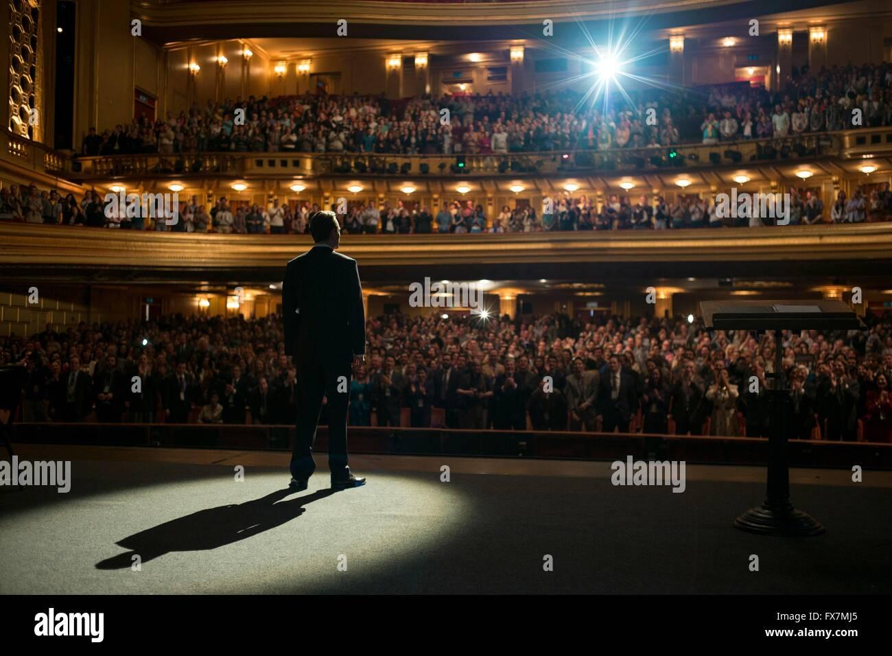 Steve Jobs Year : 2016 USA / UK Director : Danny Boyle Michael Fassbender - Stock Image