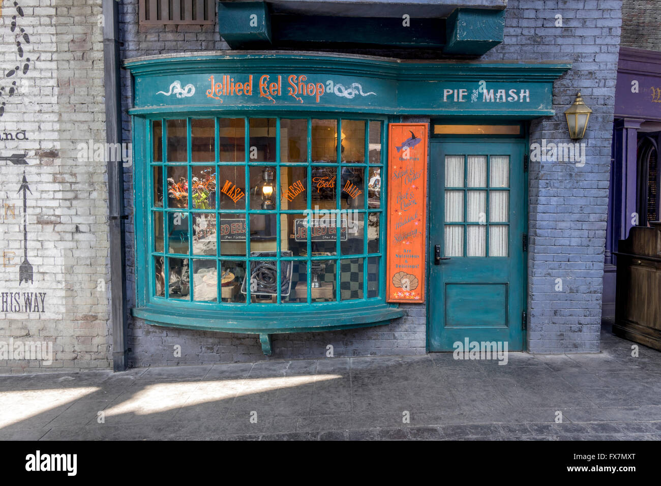diagon alley orlando stock photos diagon alley orlando stock images alamy. Black Bedroom Furniture Sets. Home Design Ideas