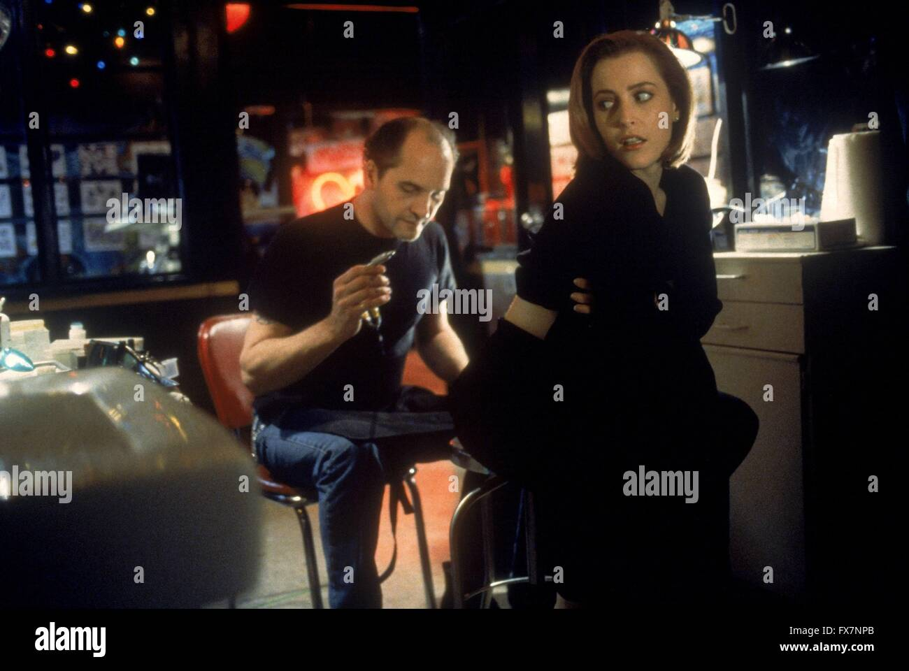 The X Files TV Series 1993 - 2002 USA 1996 Season 4 Created by Chris Carter Gillian Anderson - Stock Image