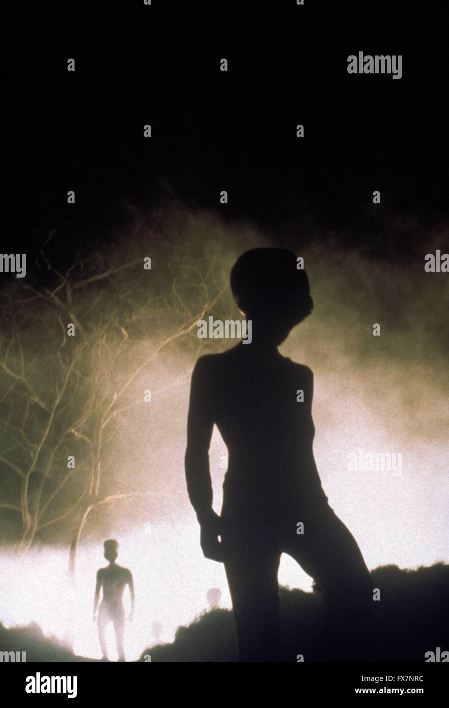 The X Files TV Series 1993 - 2002 USA 1996 Season 4 Created by Chris Carter - Stock Image