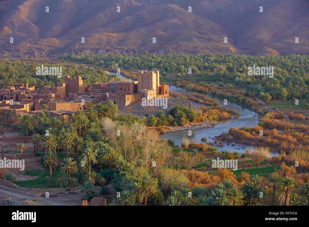 Morocco, Ait Hamou ou Said Kasbah, Draa Stock Photo