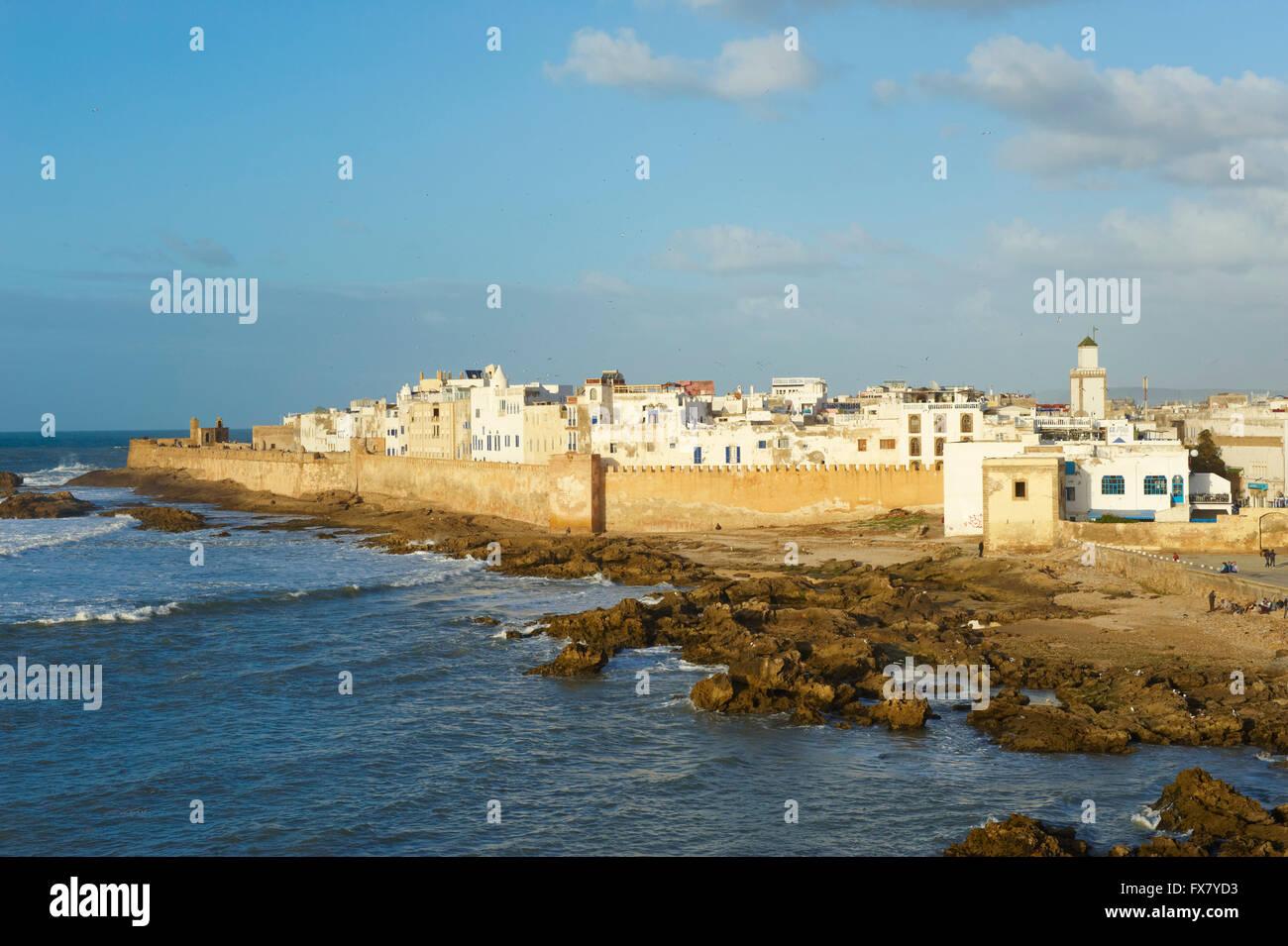 Morocco, Medina, Essaouira, Atlantic coast - Stock Image