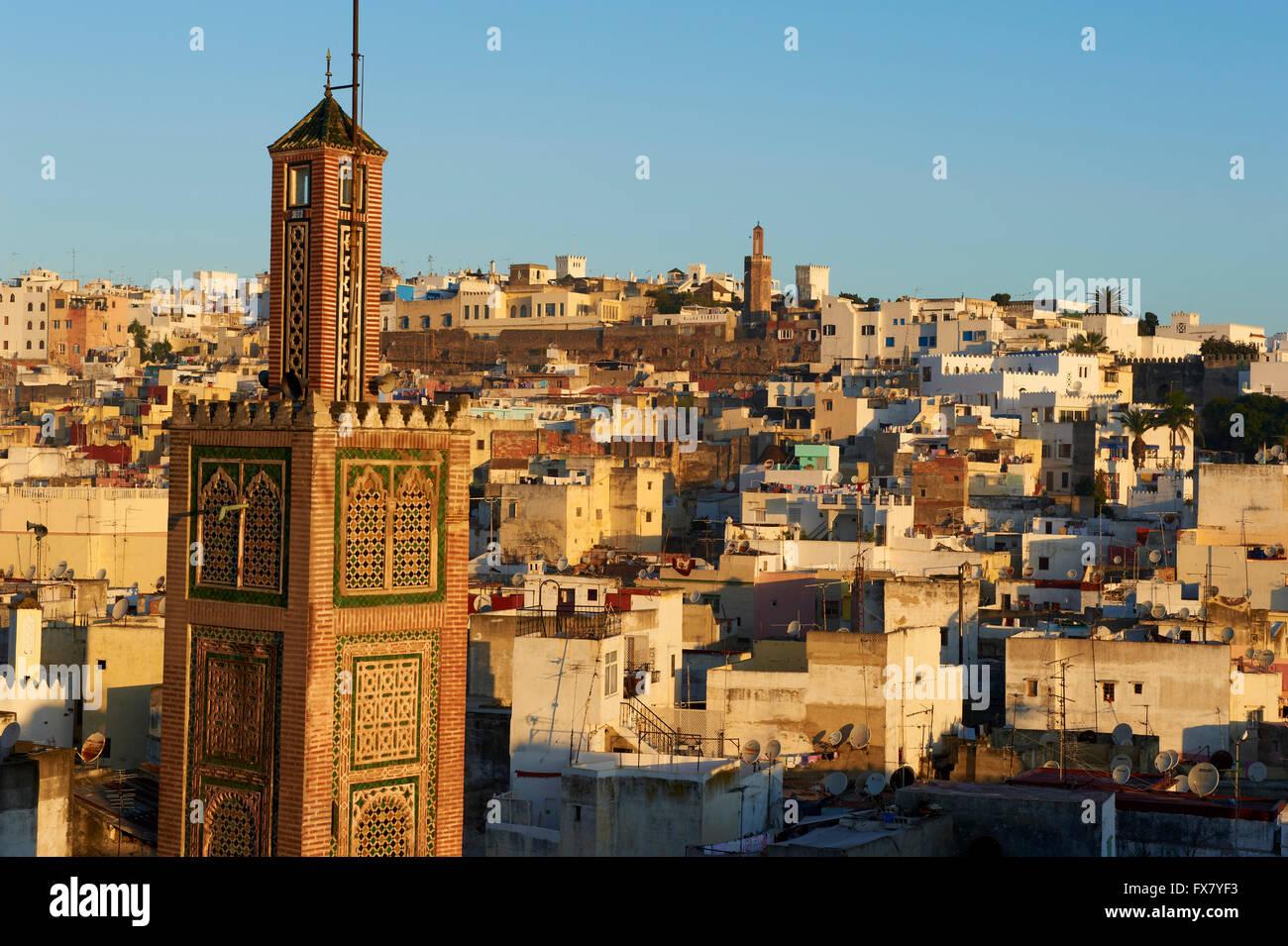 Morocco, Tangier, Medina, old city - Stock Image