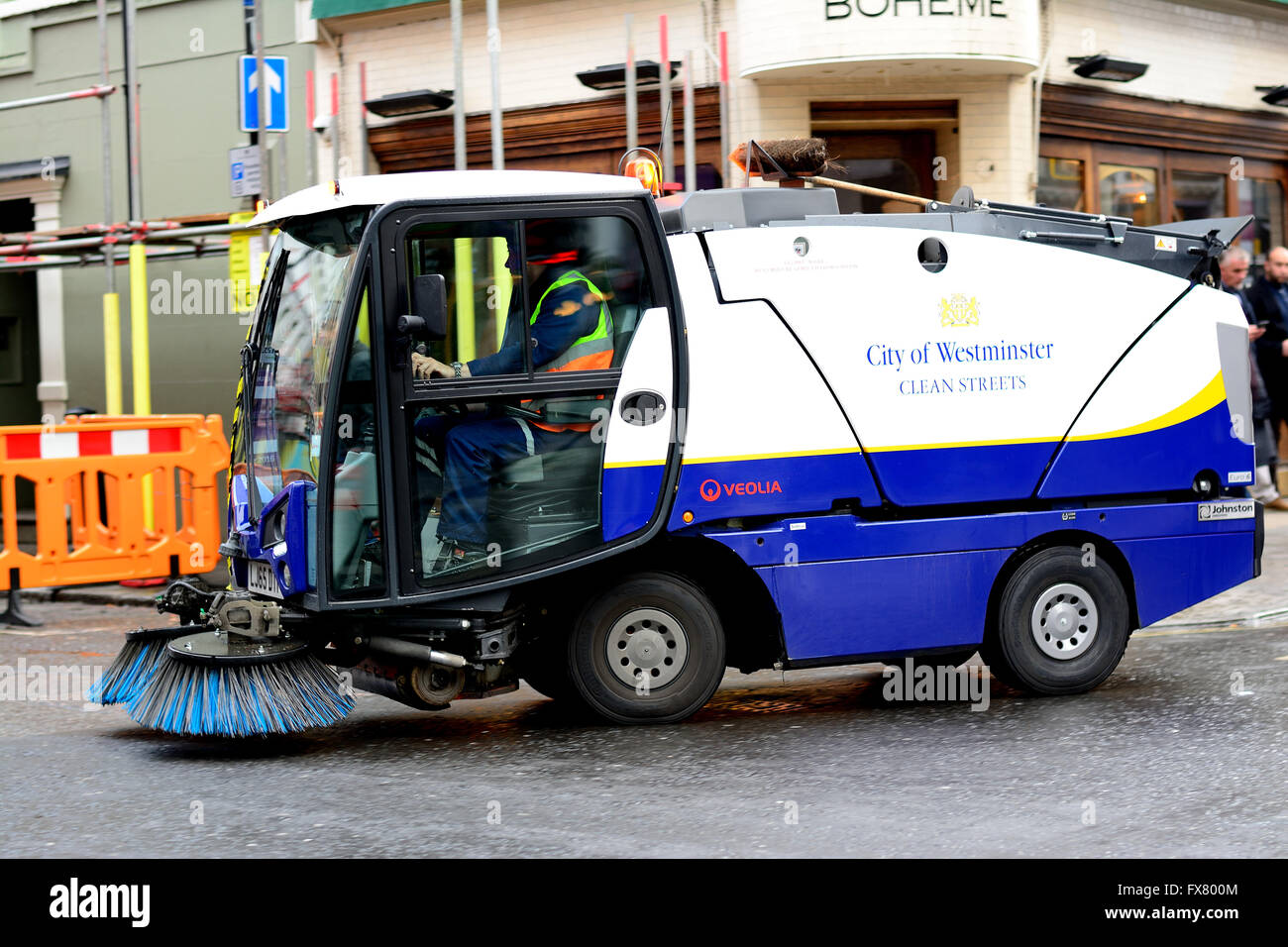Council Road Sweeper Stock Photos Amp Council Road Sweeper
