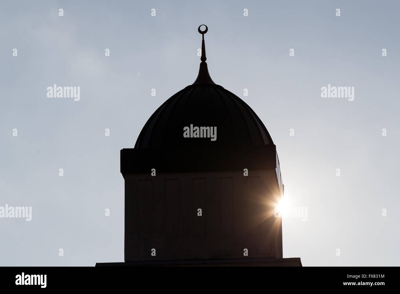 The Islamic Centre of Kingston in Kingston, Ont., on Dec. 8, 2015. - Stock Image