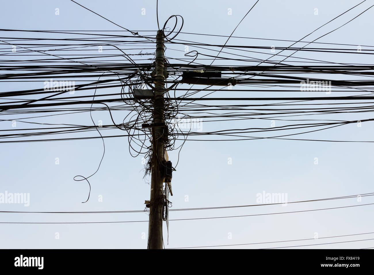 Power Line Wiring - Electrical Work Wiring Diagram •