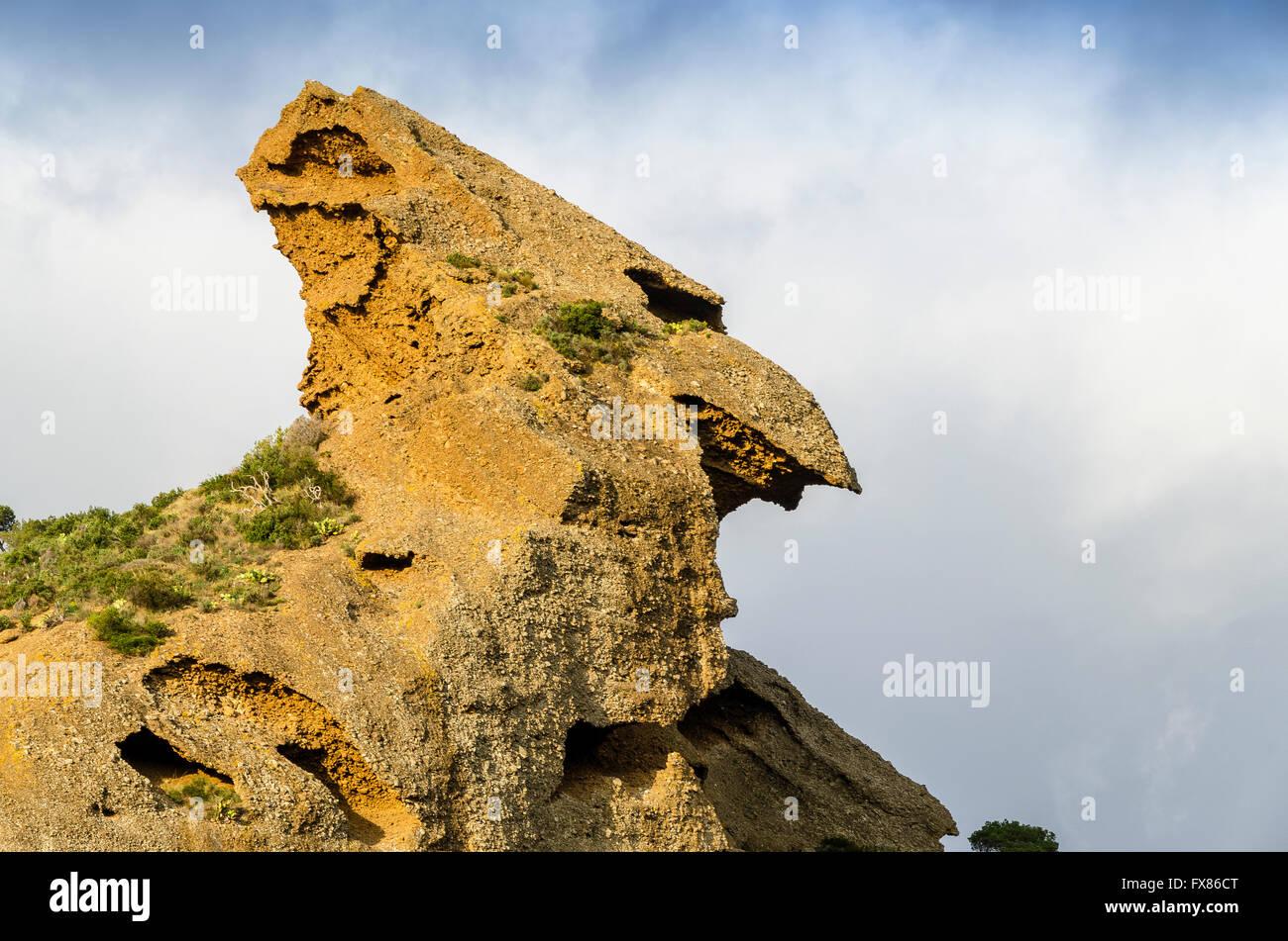 le Bec de L'aigle, la Ciotat calanque de Figuerolles France paca 13 - Stock Image
