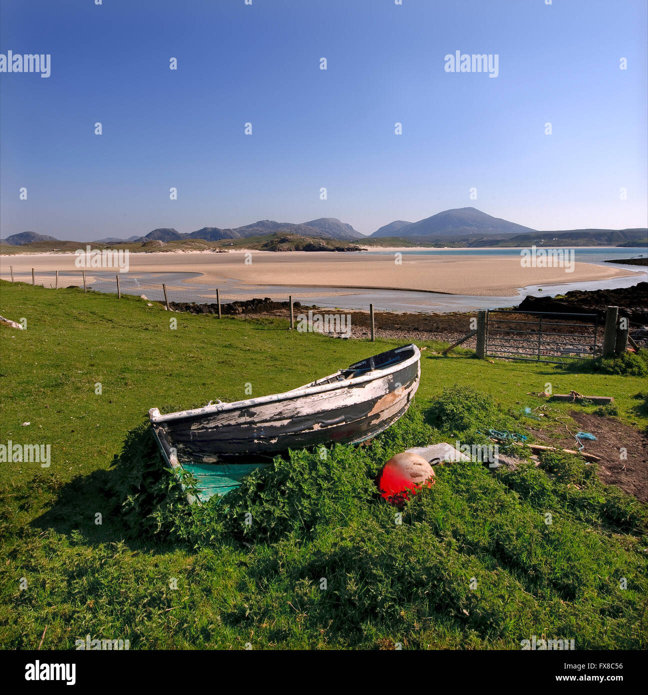 Timsgarry, Uig, Isle of Lewis, Outer Hebrides - Stock Image