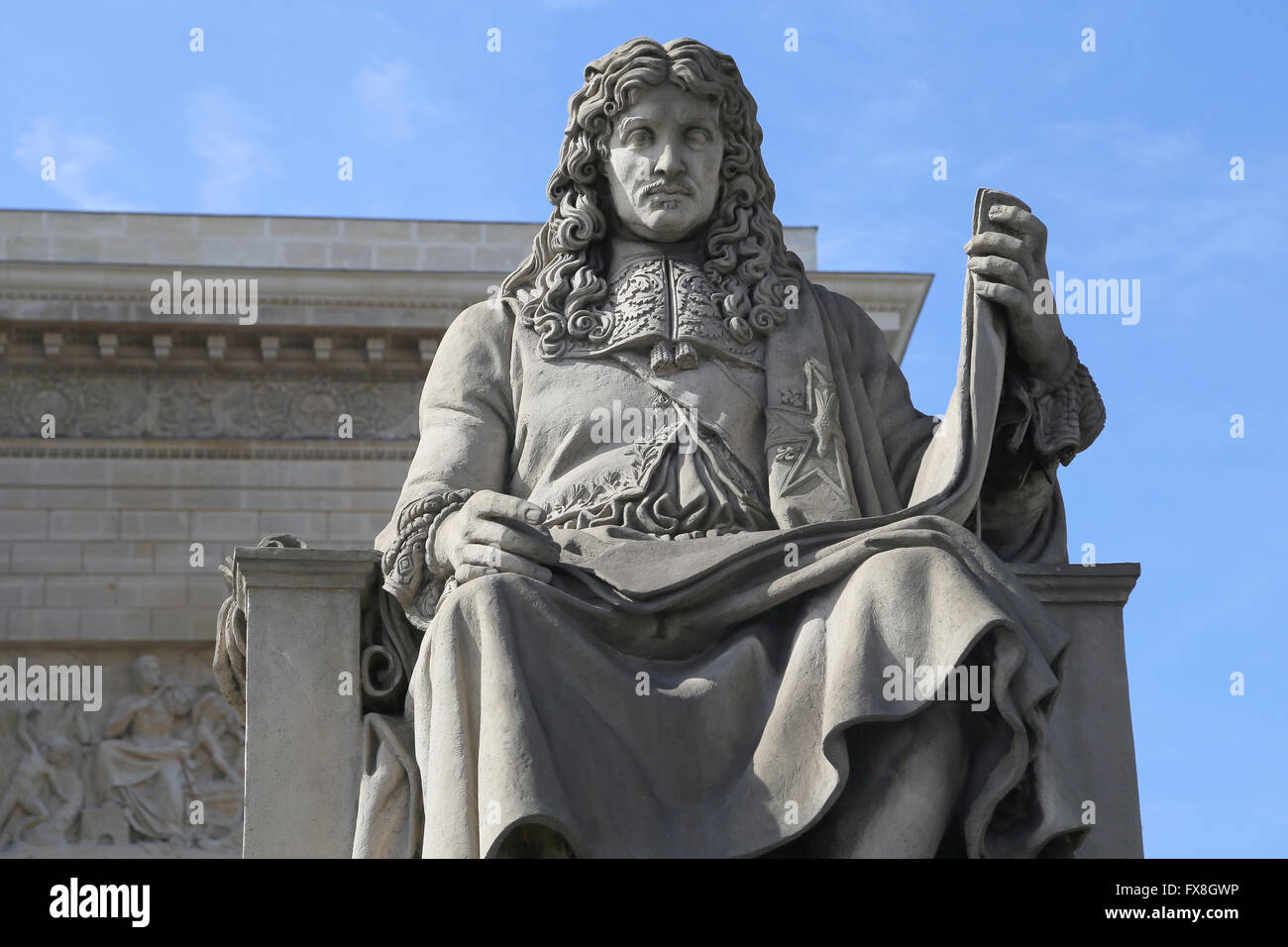 Jean-Baptiste Colbert (1619-1683). French politician. Minister of Finances 1665-1683 under the rule of King Louis - Stock Image