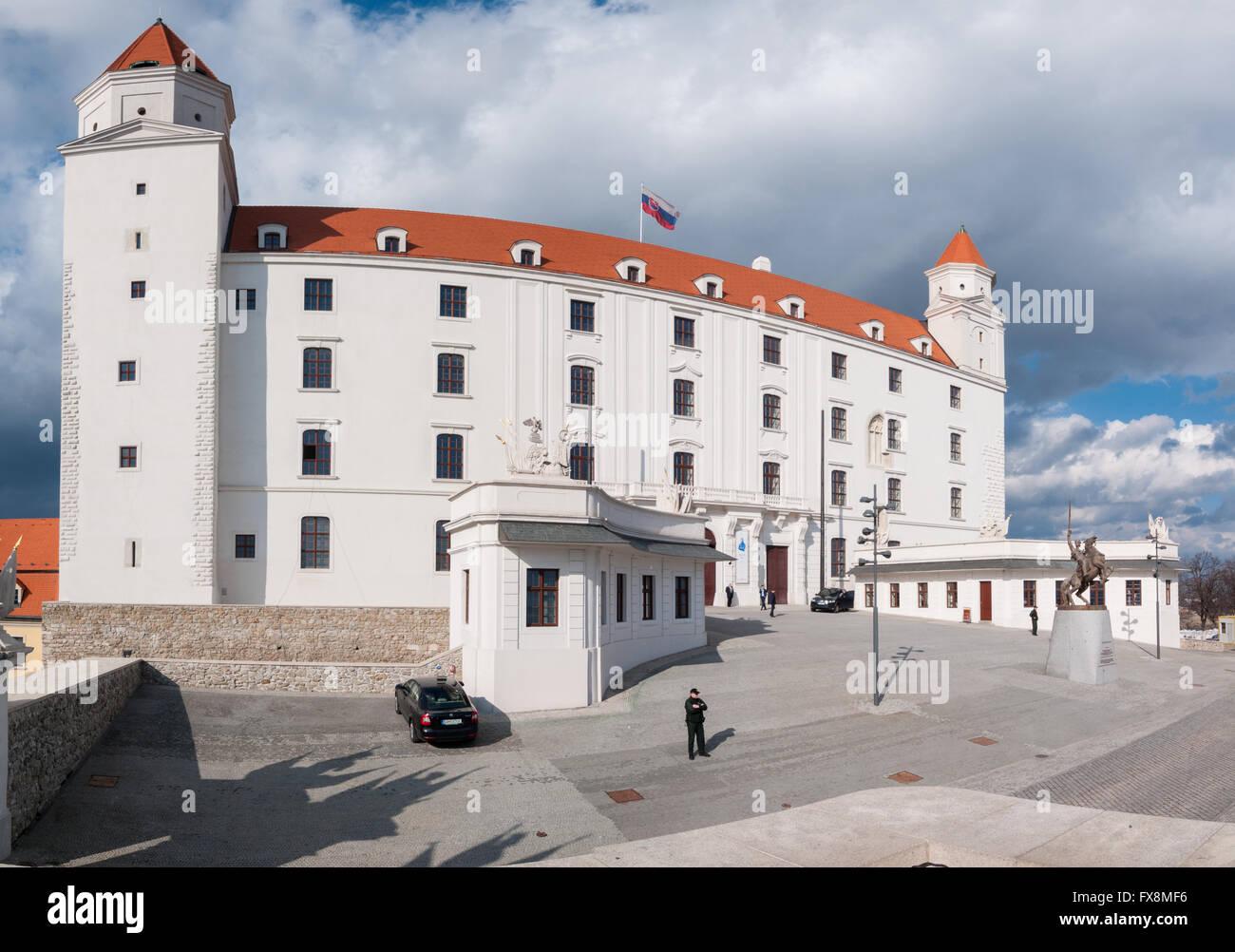 Bratislava Castle, Slovakia - Stock Image