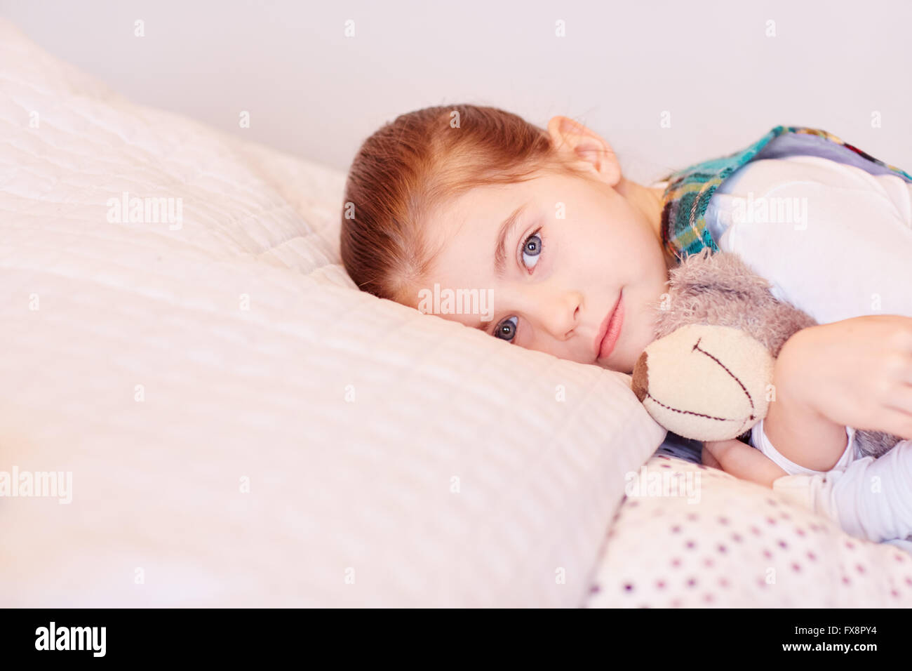 Feeling a little sleepy - Stock Image