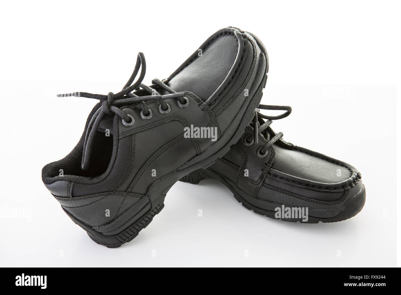 Black School Shoes High Resolution