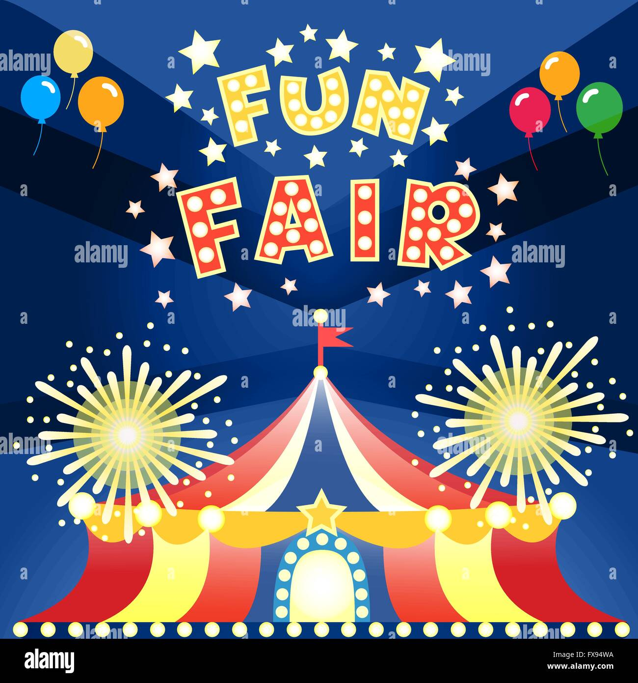 Fun Fair Poster Stock Photos Fun Fair Poster Stock Images Alamy