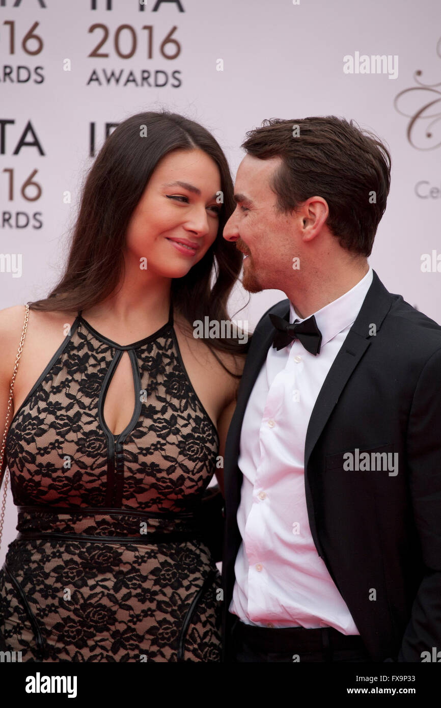 Nadia Milliken and Martin McCann at the IFTA Film & Drama Awards (The Irish Film & Television Academy) at - Stock Image