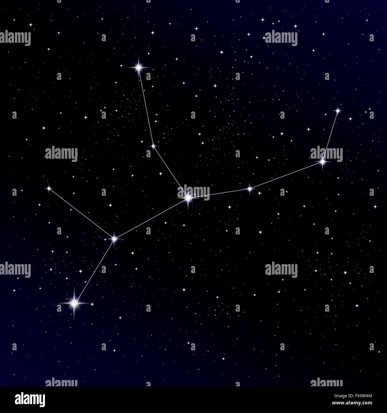Virgo Constellation Stock Photos & Virgo Constellation ...