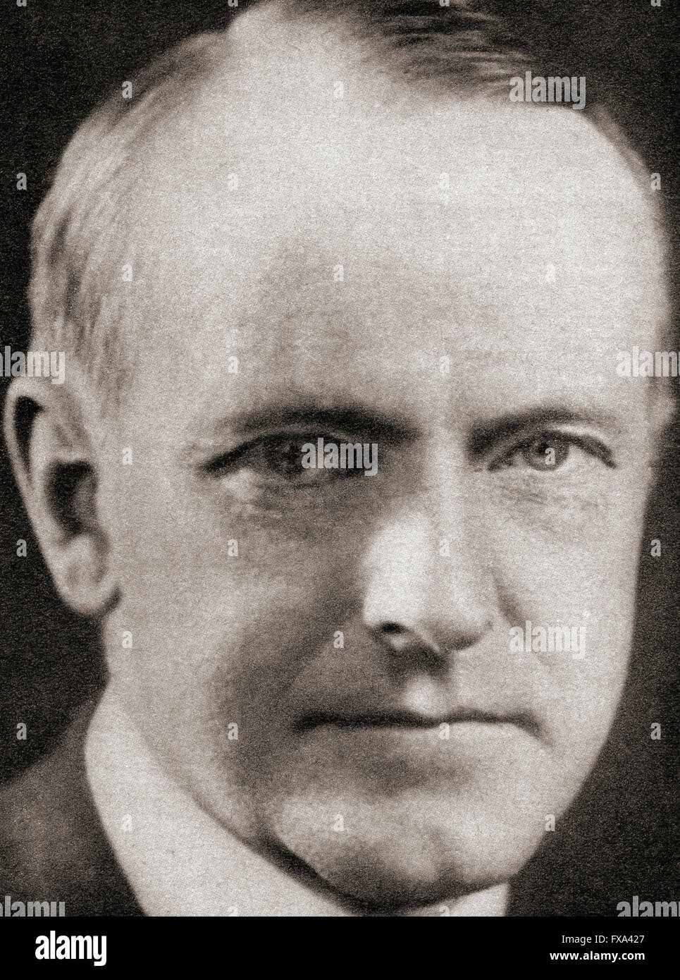 John Calvin Coolidge Jr.,1872 –  1933.  30th President of the United States of America. Stock Photo