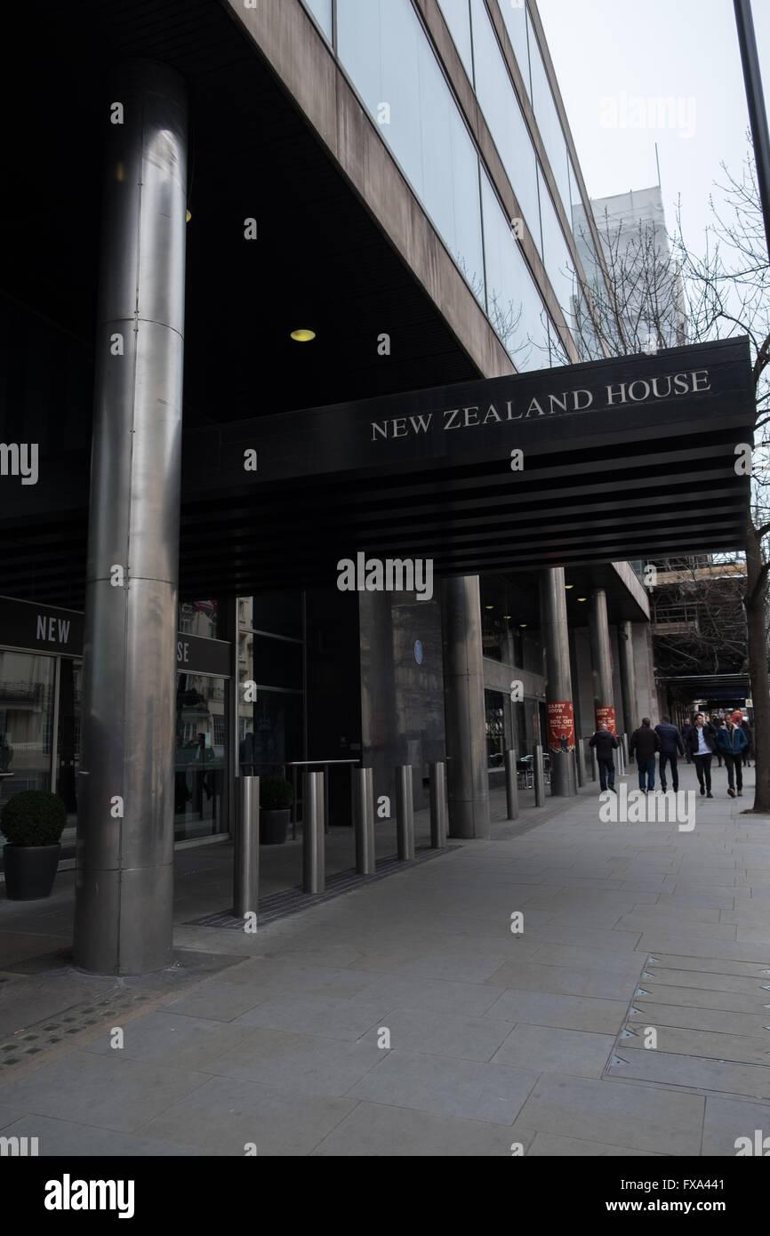 New Zealand House, Haymarket, London, England Stock Photo