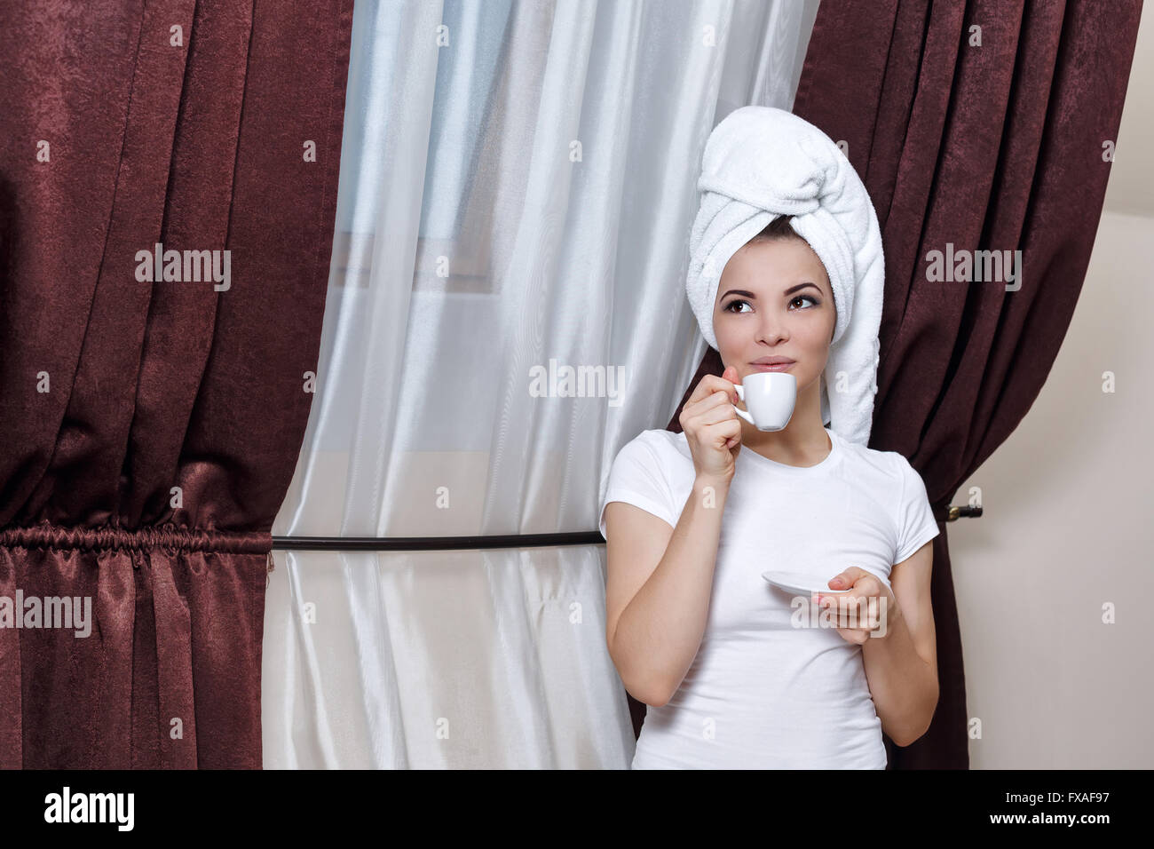 Drinking Coffee in the Shower