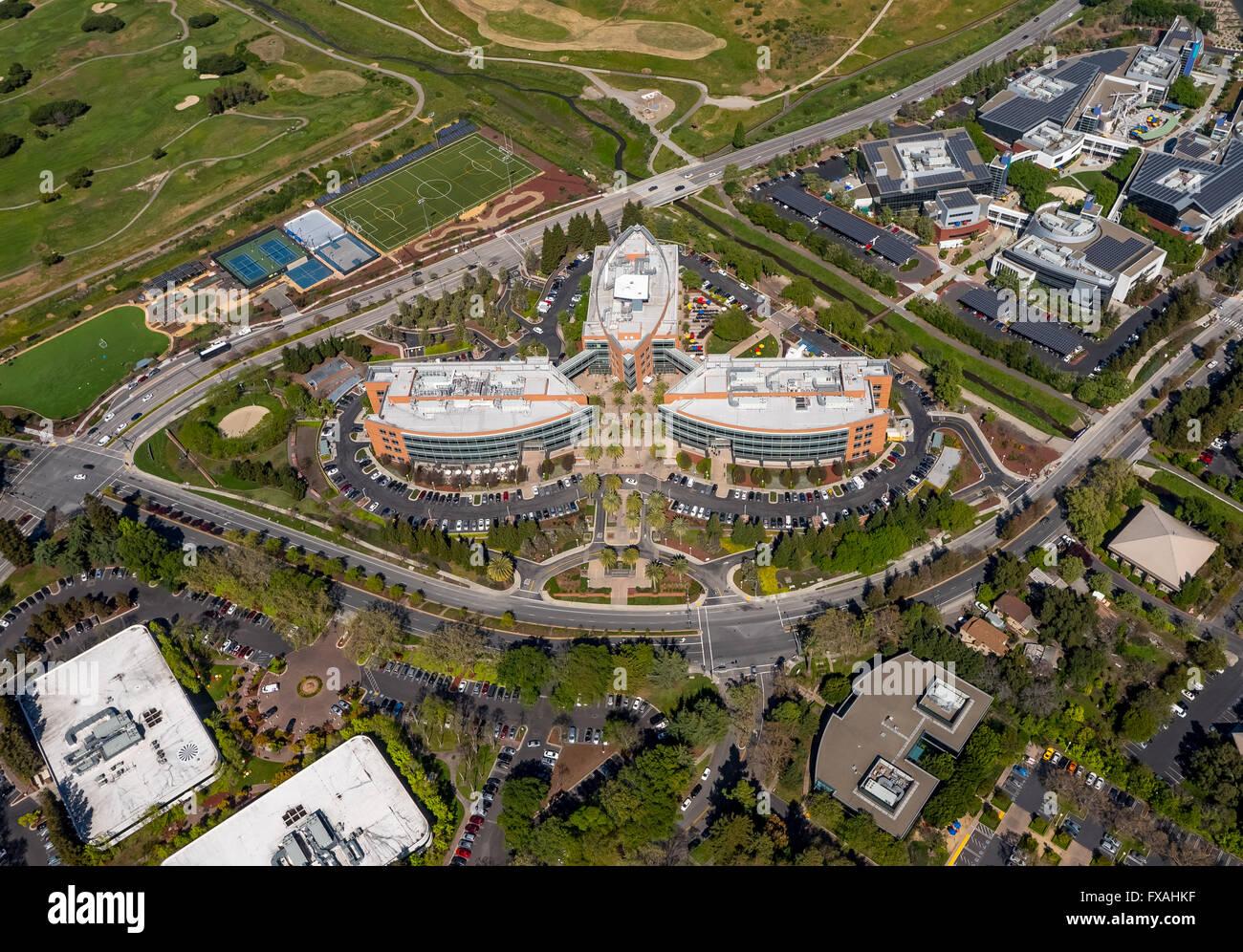 Google headquarters, Googleplex, Mountain View, Silicon Valley Stock ...