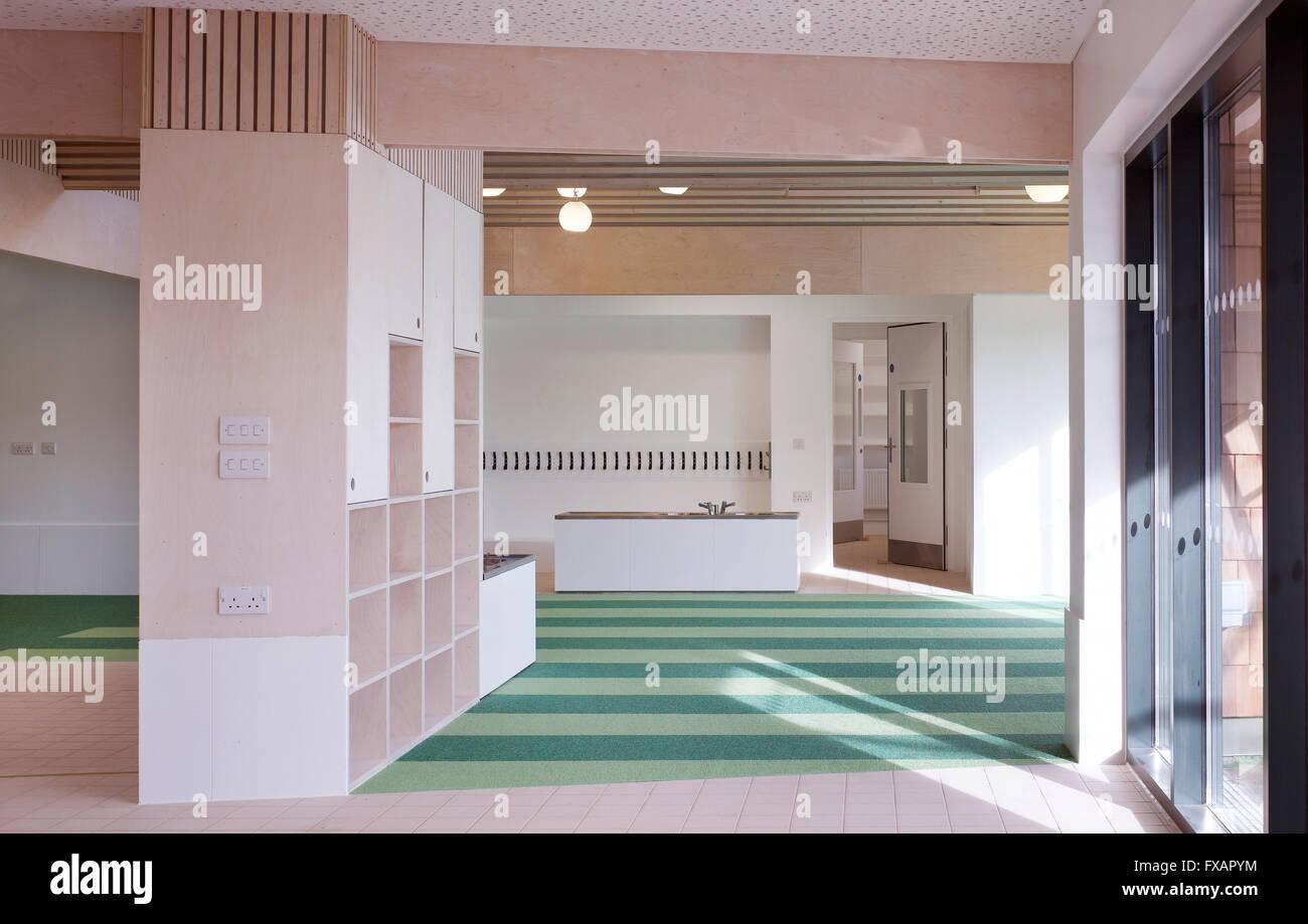Nursery Classroom Interior Whitehorse Manor Junior School At Pegaus Academy Thornton Heath United Kingdom Architect Hayhurs