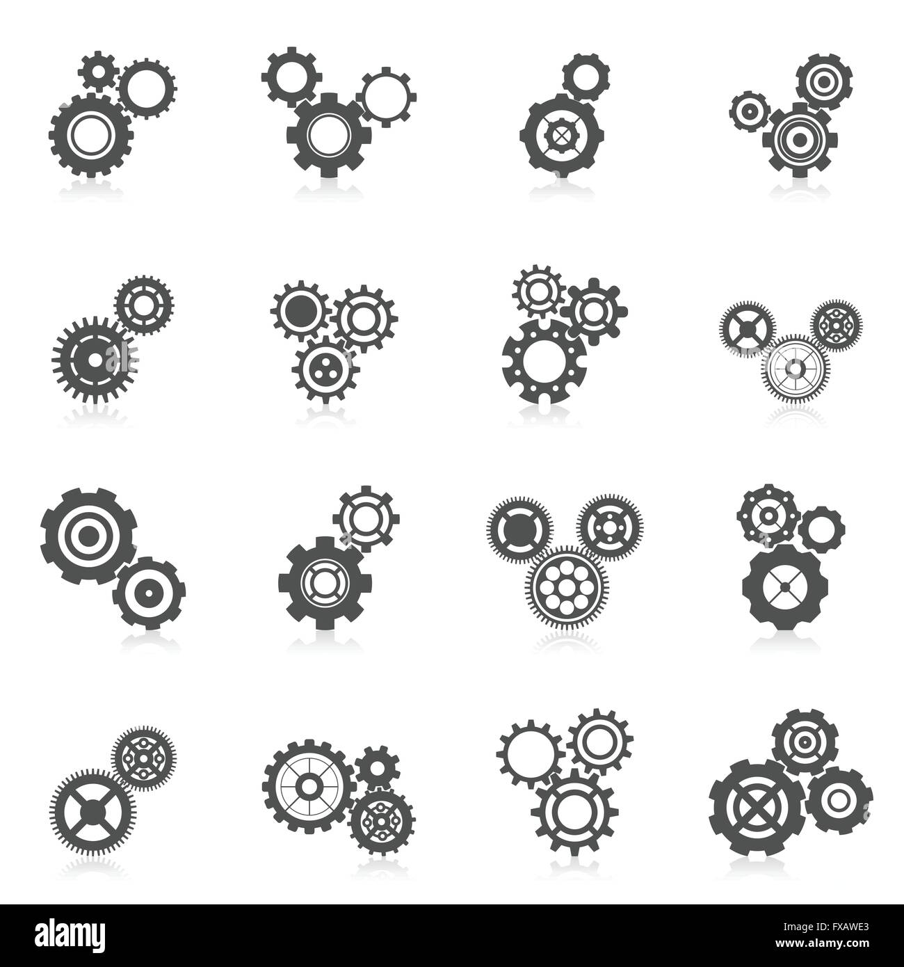 Motor Car Factory Black And White Stock Photos Images Alamy Exploded Diagram View Maranello Classic Parts Cog Wheel Icon Image