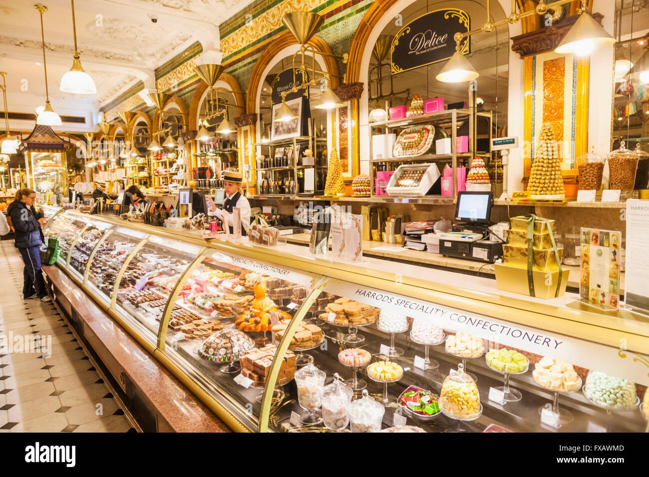 England London Knightsbridge Harrods Food Hall