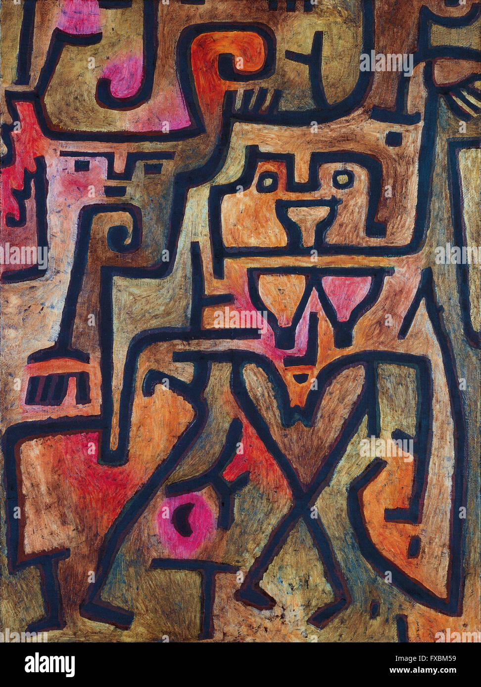Paul Klee - Forest Witches - - Stock Image