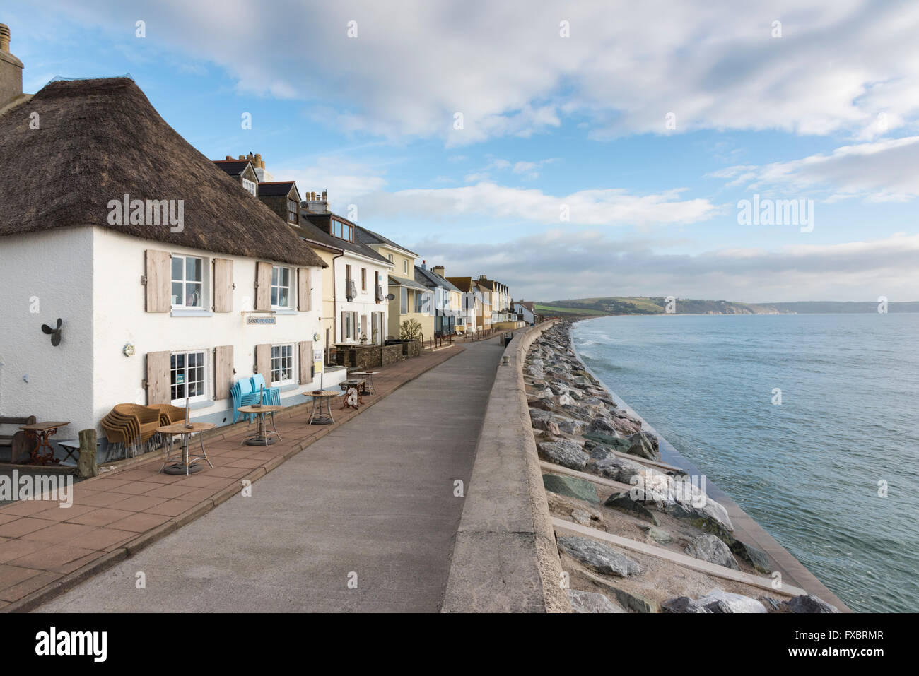 house-on-the-seafront-and-promenade-at-torcross-devon-uk