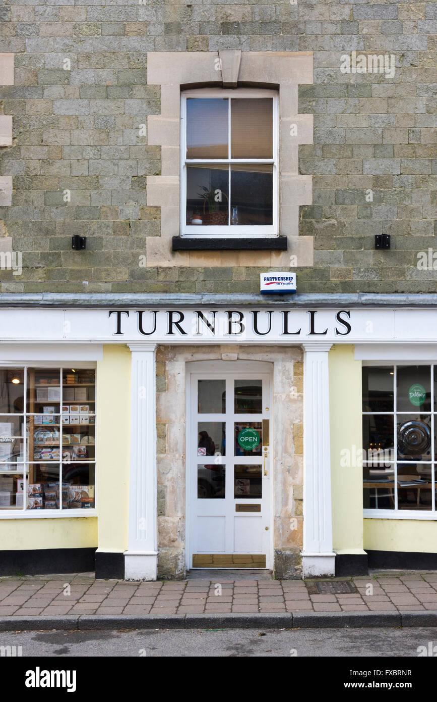 Turnbull's cheese shop Shaftesbury Dorset UK - Stock Image