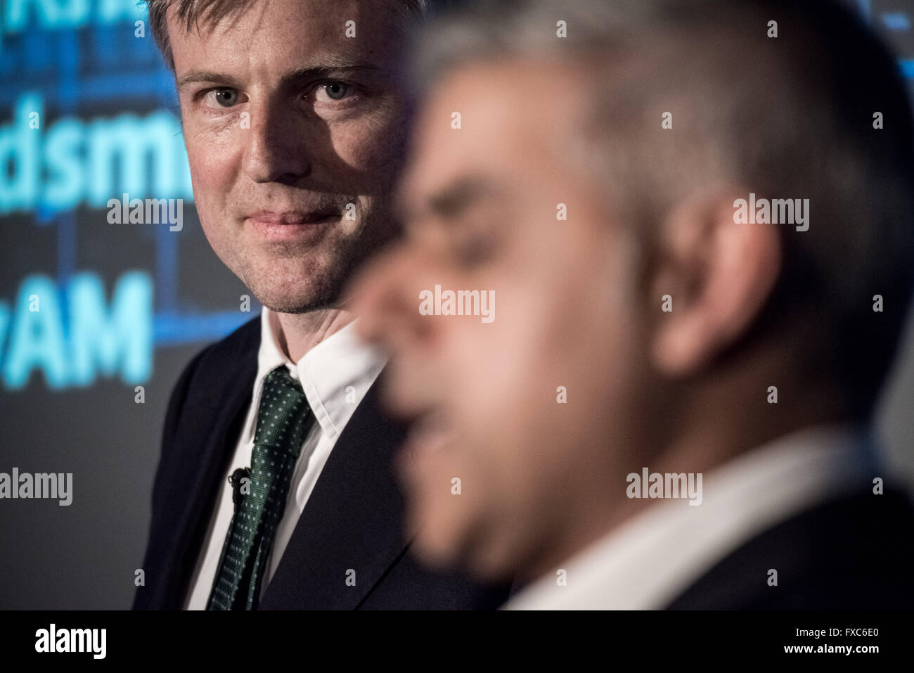 London, UK. 12th April. London Mayoral Election Debate at The Institute of Directors with Conservative candidate - Stock Image