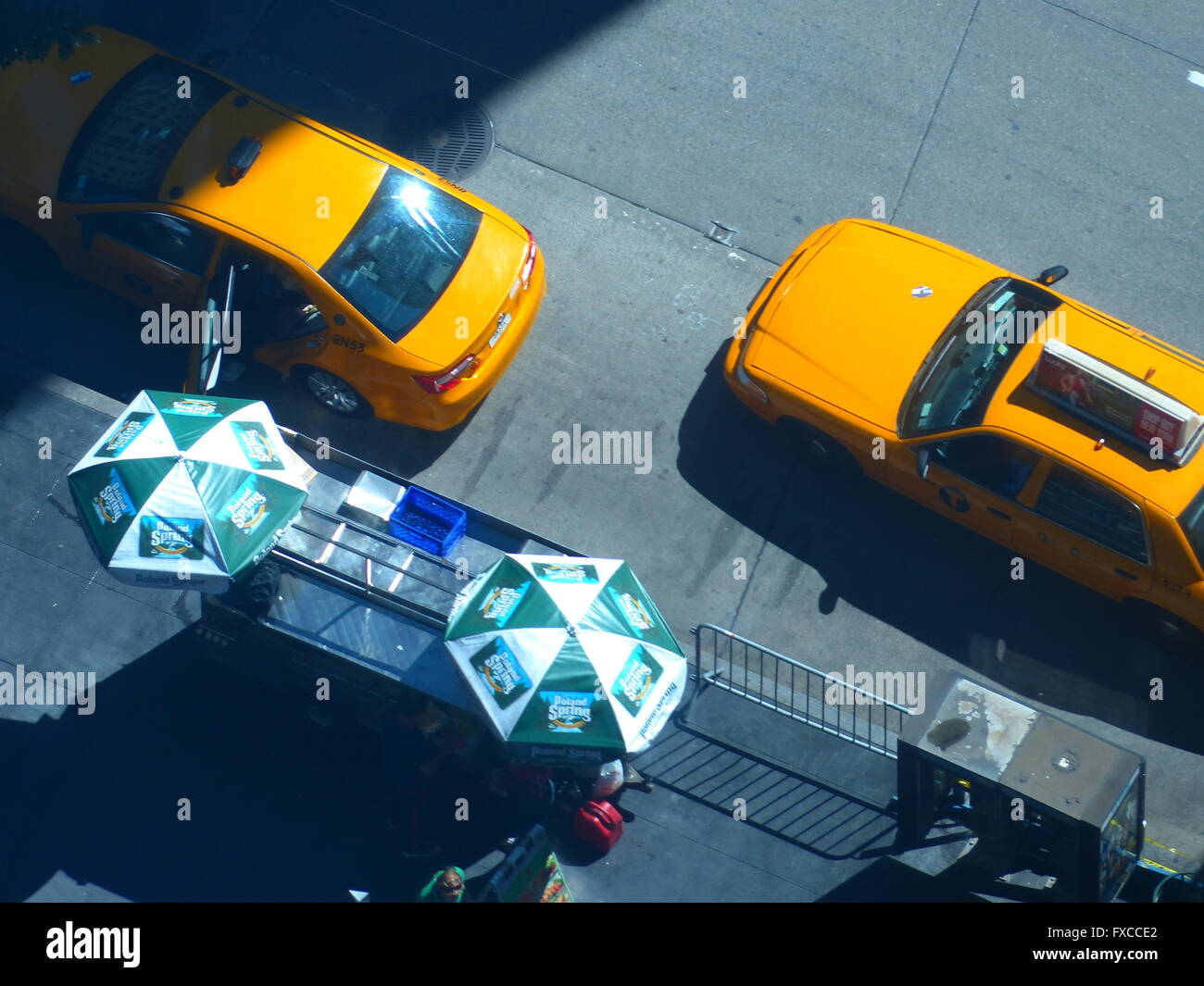 New York City yellowcabs - Stock Image