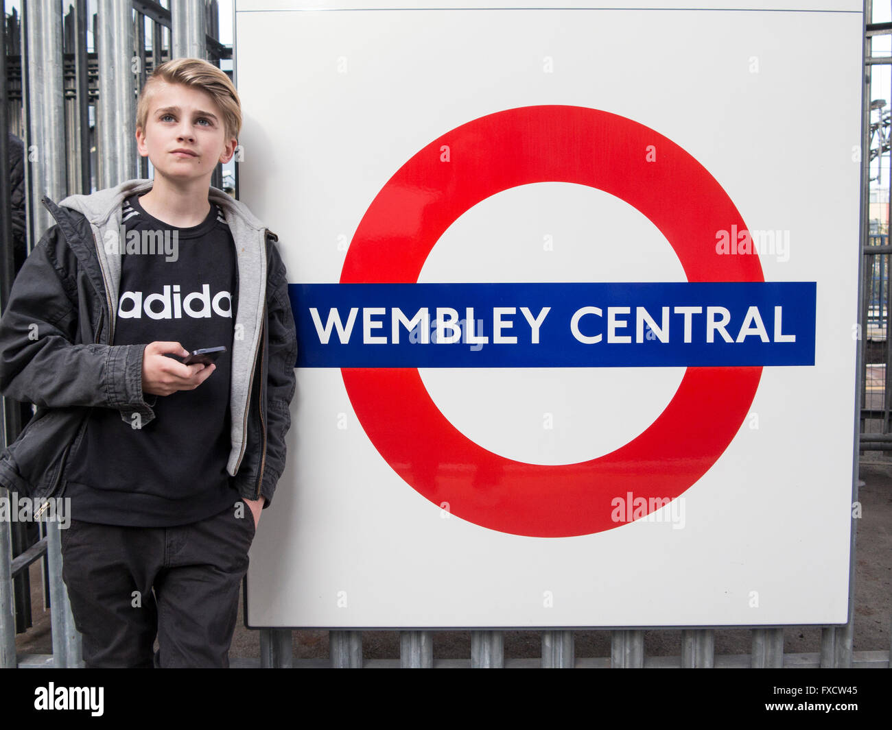 wembley central - Stock Image