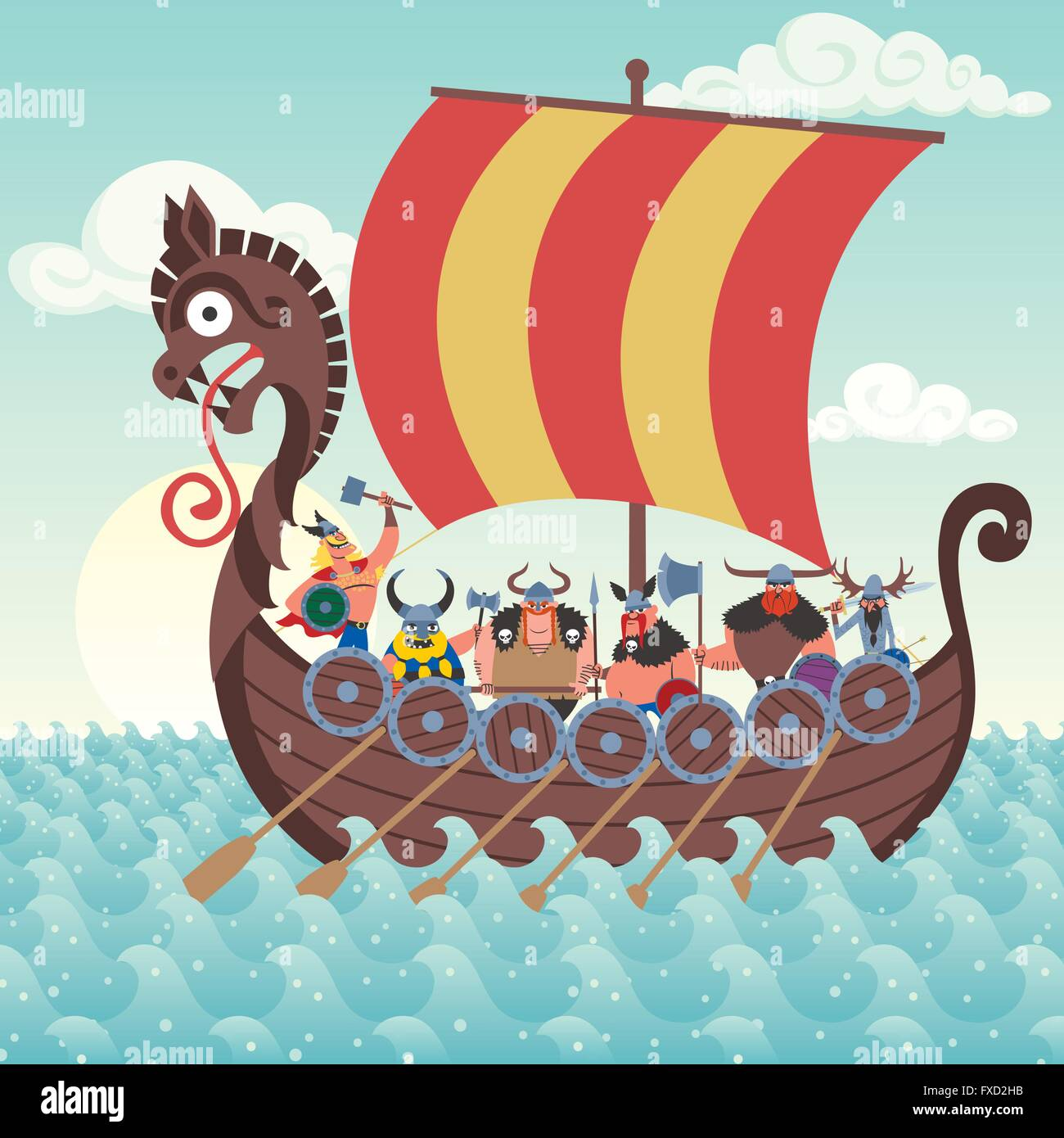 Image result for vikings cartoon