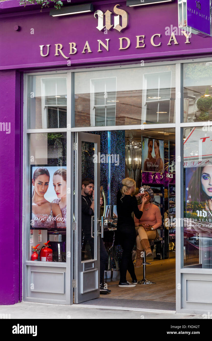Urban Decay, King Street, Covent Garden, London, UK - Stock Image