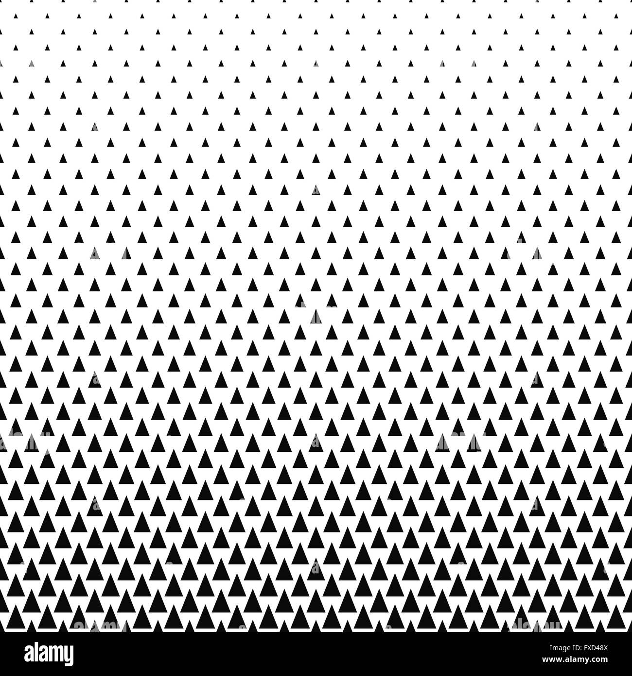 repeating black and white vector triangle pattern stock vector art