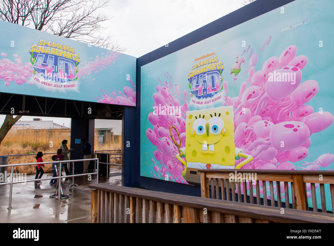 4d Cinema At The New York Aquarium Coney Island Brooklyn New York