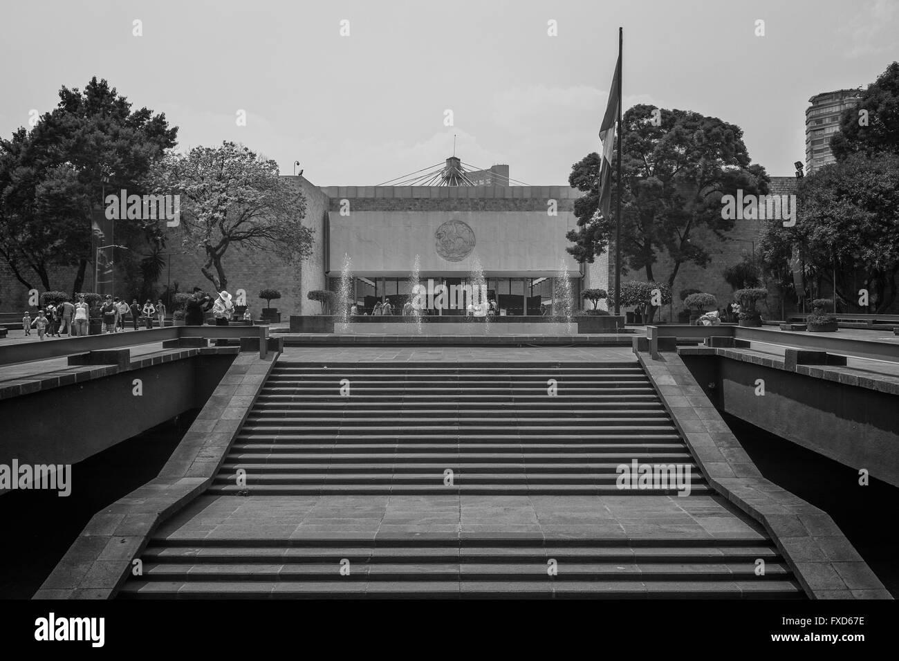Museo Nacional de Antropología e Historia , Ciudad de México - Stock Image