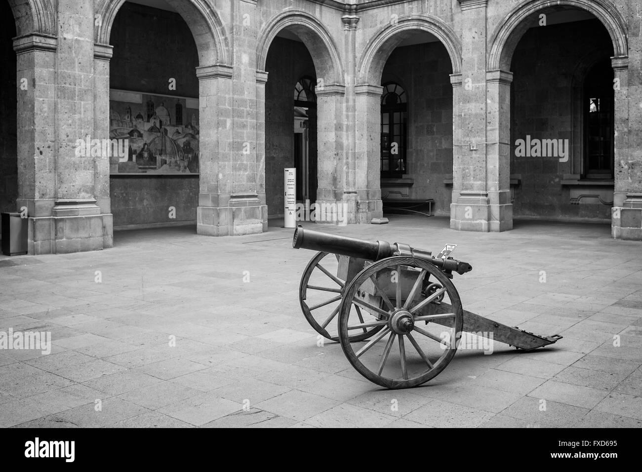 Museo Nacional de Historia in Castillo de Chapultepec in Mexico City - Stock Image