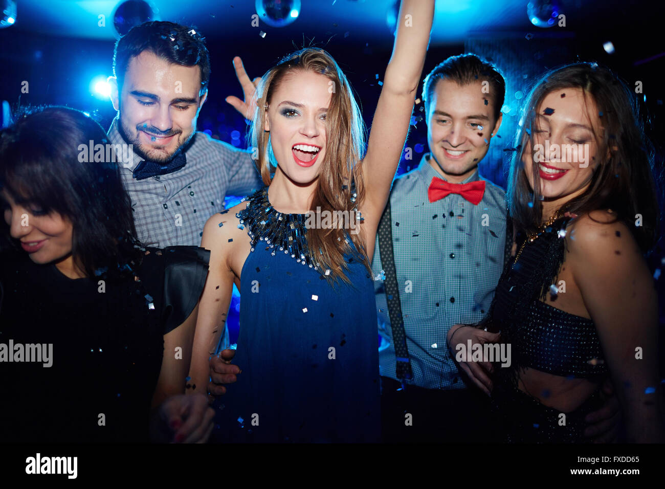 Cool party - Stock Image