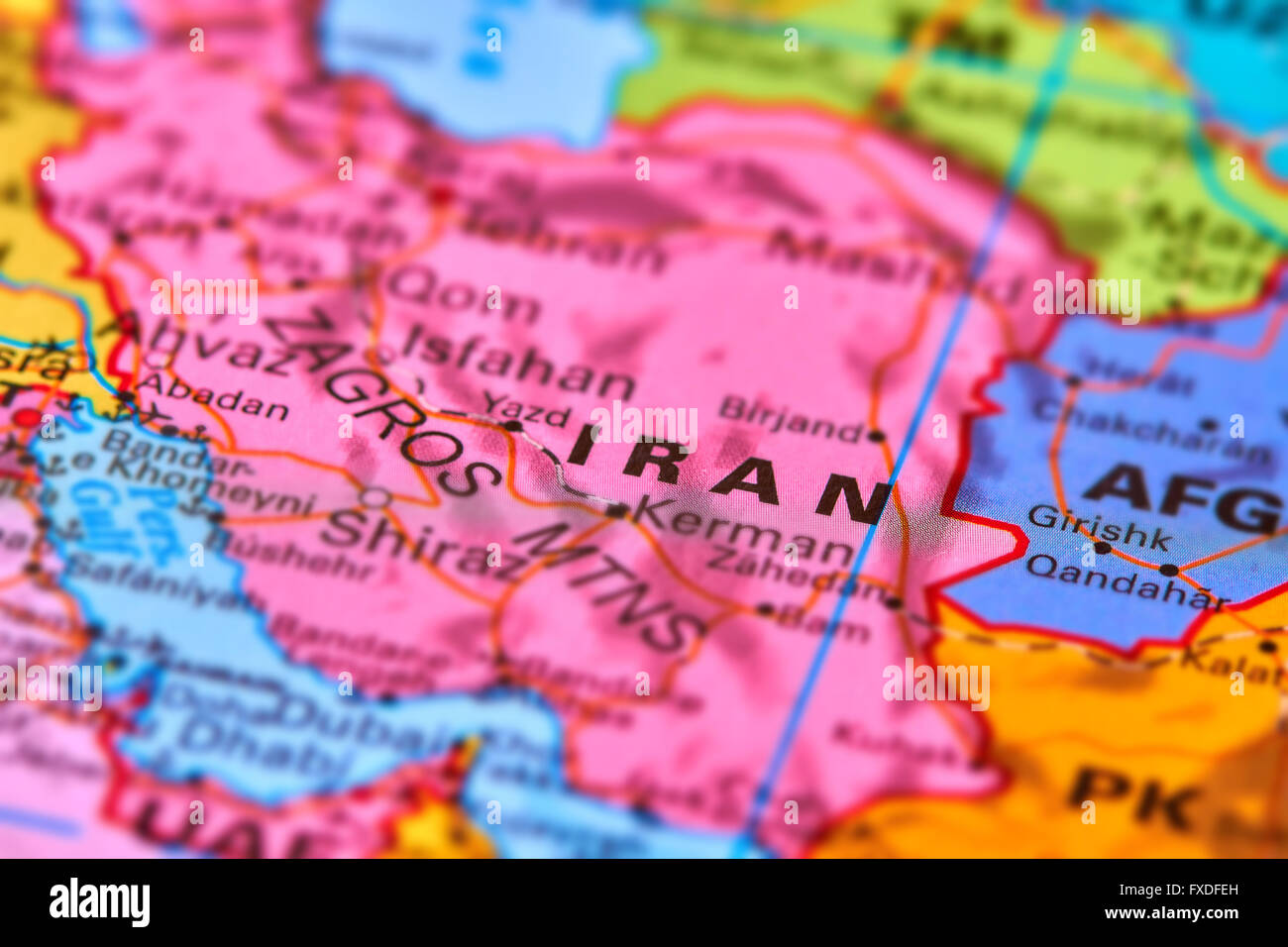 Picture of: Iran Country In The Middle East On The World Map Stock Photo Alamy