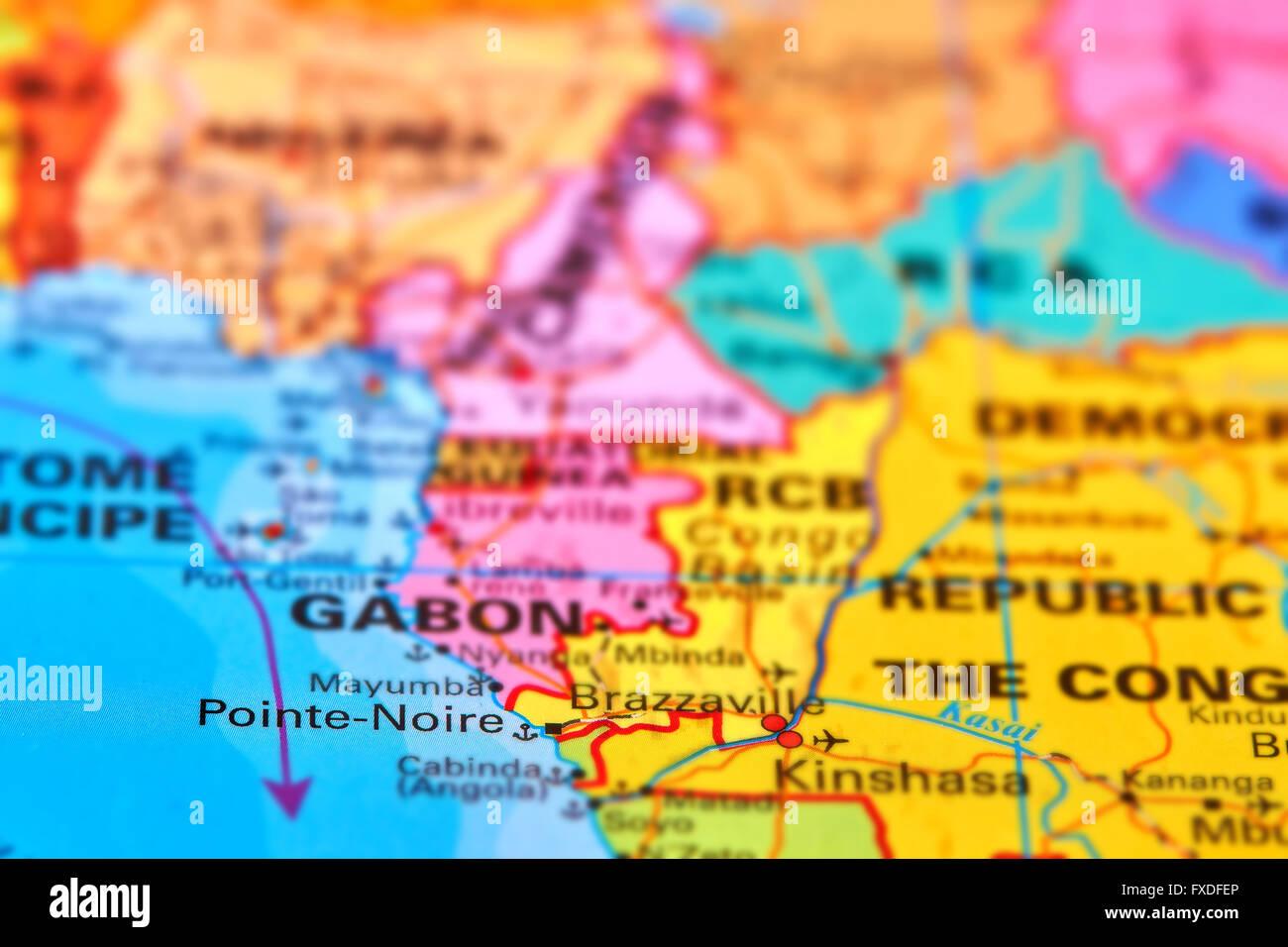 Pointe noire city of republic of congo in africa on the world map pointe noire city of republic of congo in africa on the world map gumiabroncs Gallery