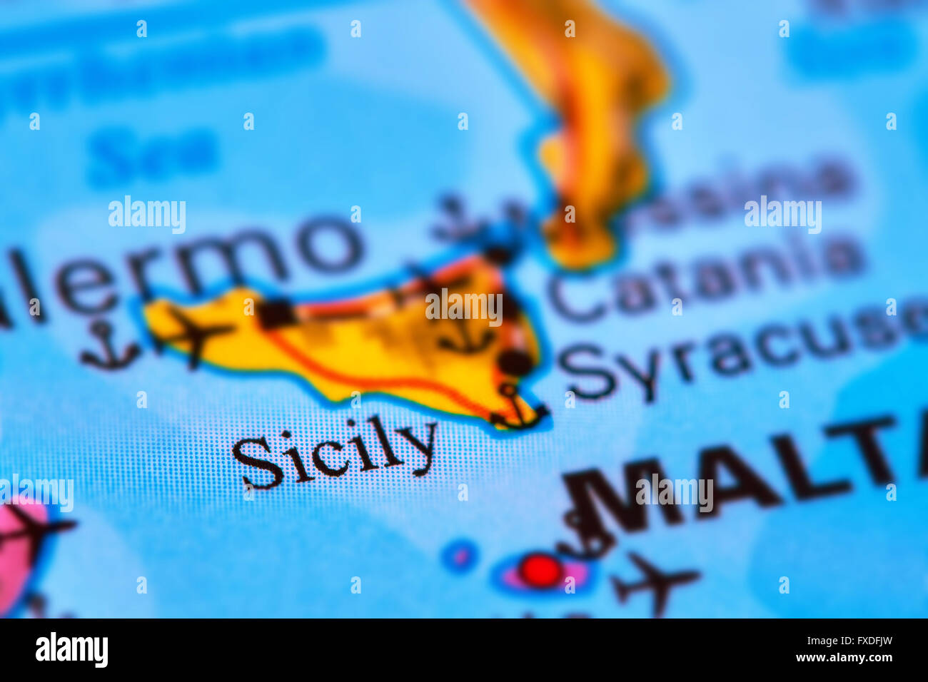 Sicily island in italy on the world map stock photo 102330561 alamy sicily island in italy on the world map gumiabroncs Image collections